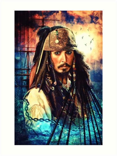 He's A Pirate by Sophie Cowdrey