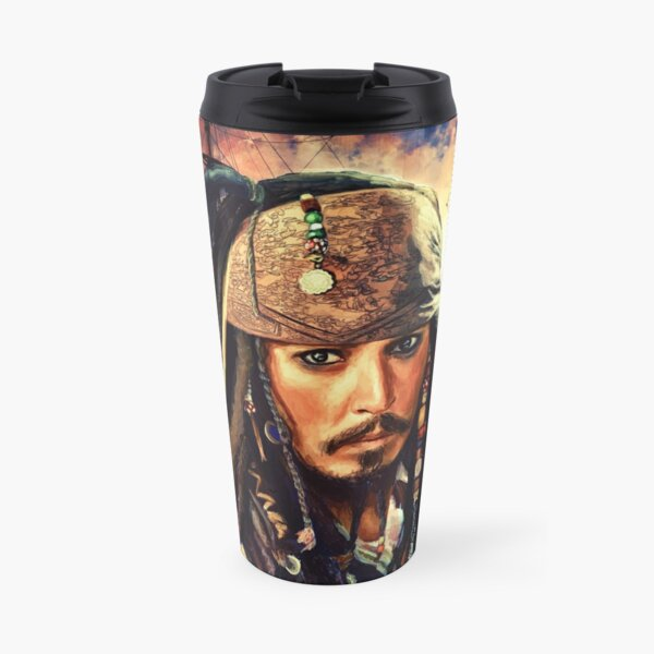 He's A Pirate Travel Mug