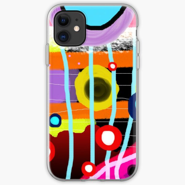 The most desigual ugly abstract art in the world iPhone Soft Case