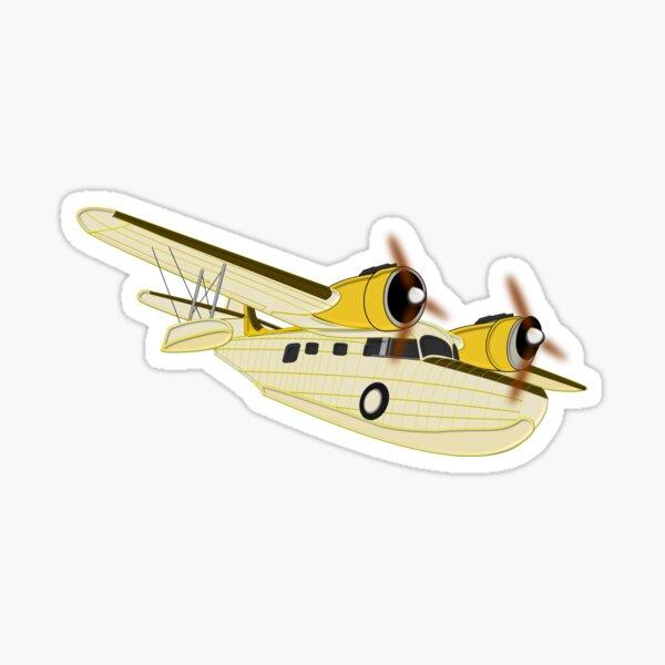 Grumman Goose the Flying Yacht Sticker