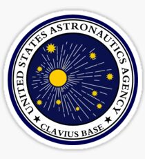 CLAVIUS MOON BASE - 2001 SPACE ODYSSEY Sticker