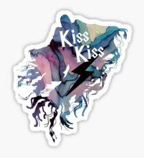KISS KISS DEMENTOR  Sticker