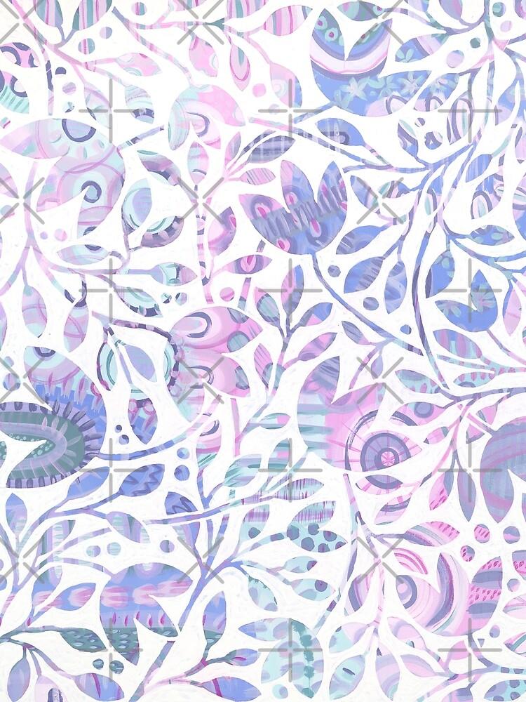 Delicate Garden by Clare-Woods