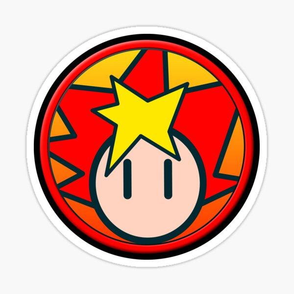 Spike-Symbol Glänzender Sticker