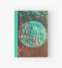 Weathered Metal Hardcover Journal