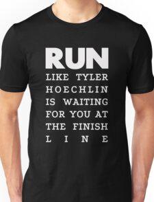 RUN - Tyler Hoechlin 2 Unisex T-Shirt
