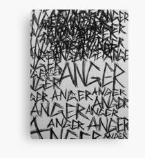 Anger! Canvas Print