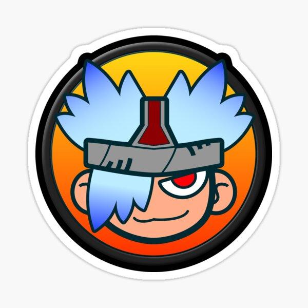 Spectre Icon Glänzender Sticker