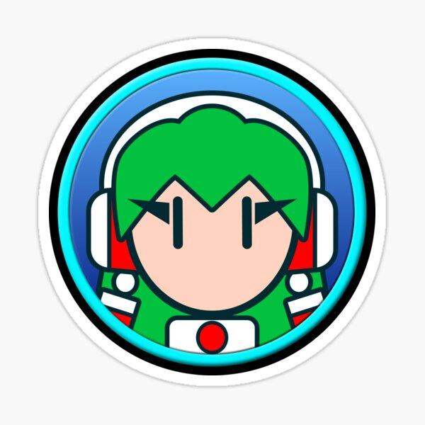 Casi Icon Glänzender Sticker