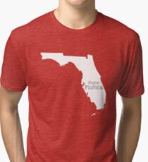 Home is Florida Tri-blend T-Shirt
