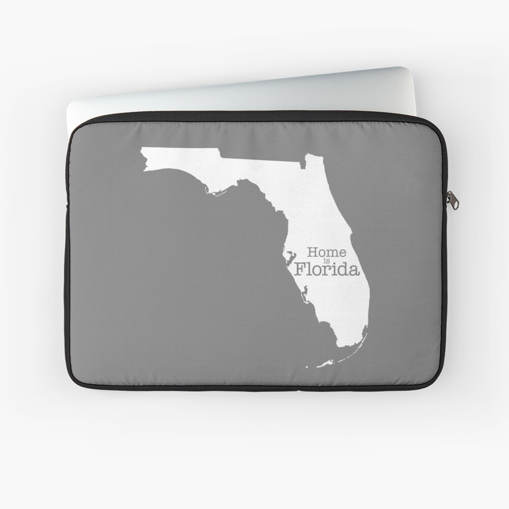 Home is Florida Laptop Sleeve