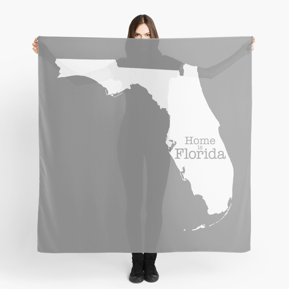 Home is Florida Scarf