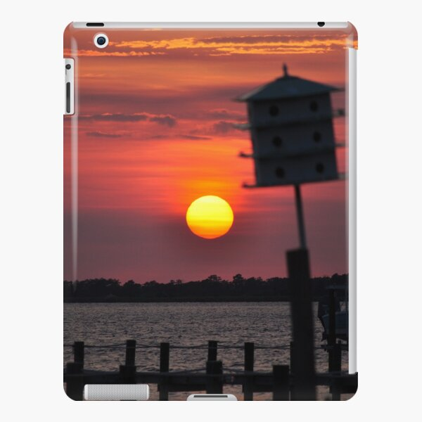 """""""Calm Before the Storm"""" - Sunset at the Sound iPad Snap Case"""