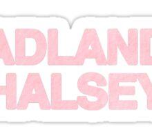 BADLANDS sticker Sticker
