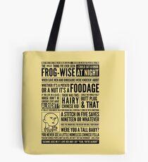 Bald Mank Tote Bag