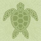 Green Sea Turtle by fizzgig