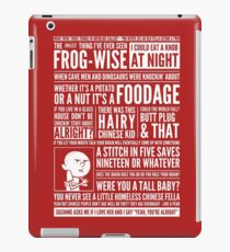 Bald Mank iPad Case/Skin
