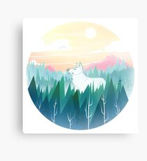 Protector of the pines  Metal Print