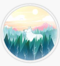 Protector of the pines  Transparent Sticker
