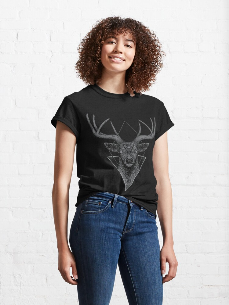 Alternate view of Dark Deer Classic T-Shirt