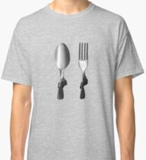 fork and spoon. Classic T-Shirt