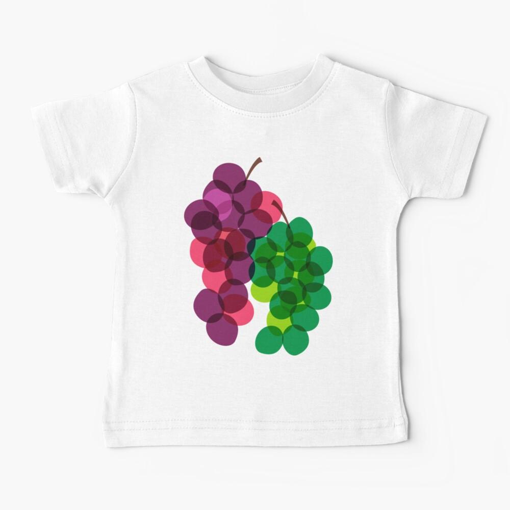 Retro Grapes Baby T-Shirt