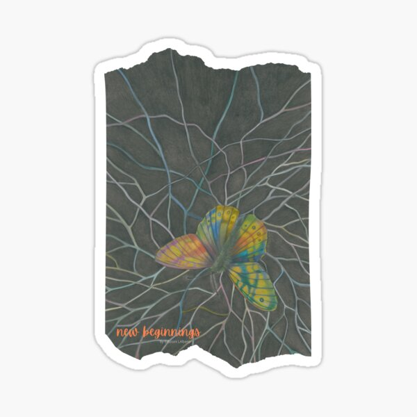 new beginnings by Edizioni LAlbero Sticker