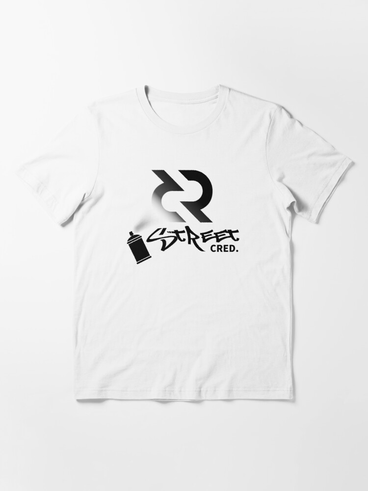 Alternate view of Street Cred ™ v2 'Design timestamped by https://timestamp.decred.org/'  Essential T-Shirt