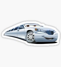 Cartoon Limo Sticker