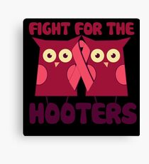 Breast Cancer Awareness Pink Canvas Print