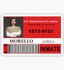 Lorna Morello ID Badge Sticker
