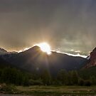 Sunset Over Silverton  by Melody Ricketts