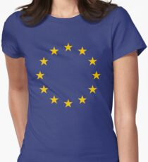 EU Women's Fitted T-Shirt