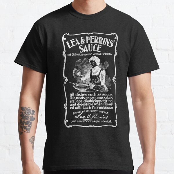 Lea and Perrins Sauce Vintage Label 1 (White) Classic T-Shirt