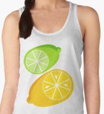 Retro Lemon & Lime Women's Tank Top