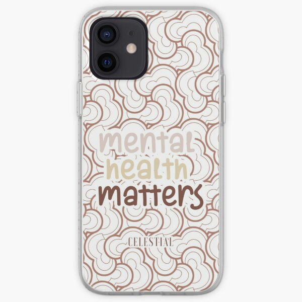 Post-traumatic growth mental heath awareness hashtag mental health mh not ok iPhone Soft Case