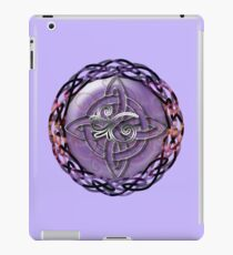 A Celtic Knotwork Compass iPad Case/Skin