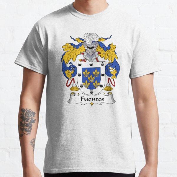 Escudo de armas / familiar de Fuentes Camiseta clásica