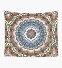 Earth Tones Mandala Wall Tapestry