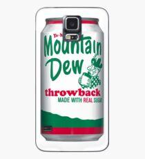 Mountain Dew Throwback  Hülle & Klebefolie für Samsung Galaxy