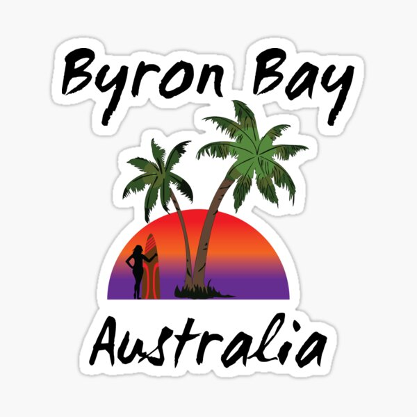 Byron Bay Australia Sticker