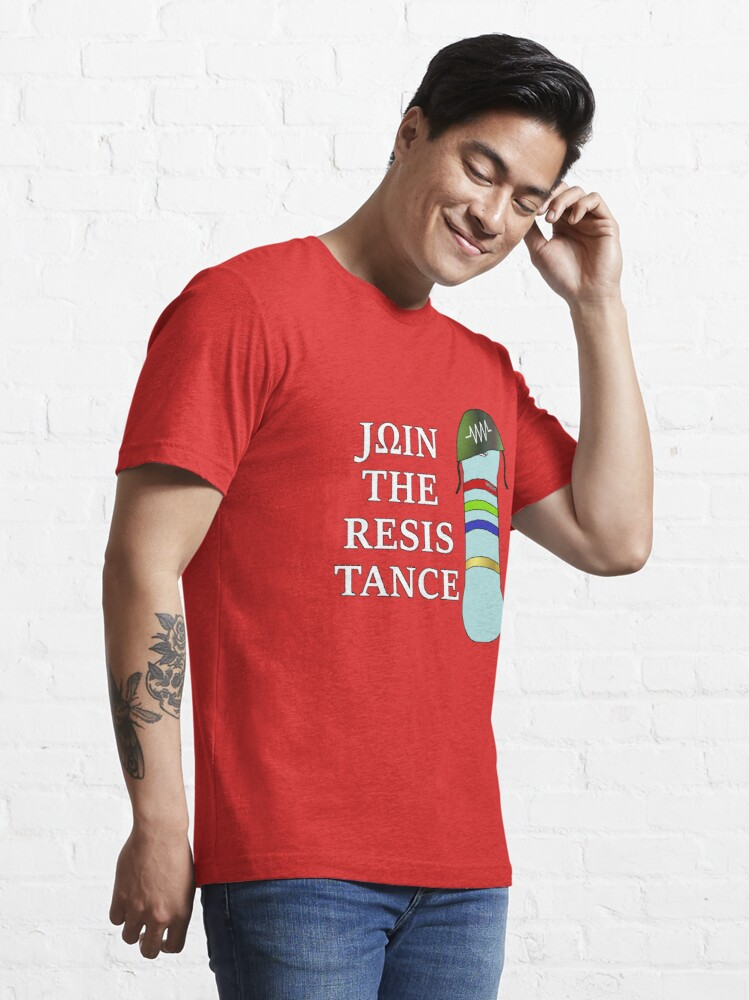 Alternate view of Join the resistance Essential T-Shirt