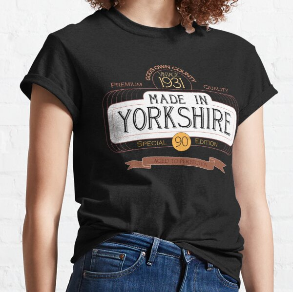 Made in Yorkshire, 90th Birthday, born in 1931 Classic T-Shirt