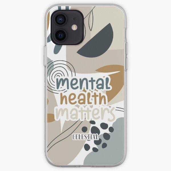 Post-traumatic growth mental heath awareness hashtag mental health mh not ok 10 iPhone Soft Case