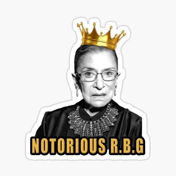 The Notorious Ruth Bader Ginsburg (RBG) Sticker