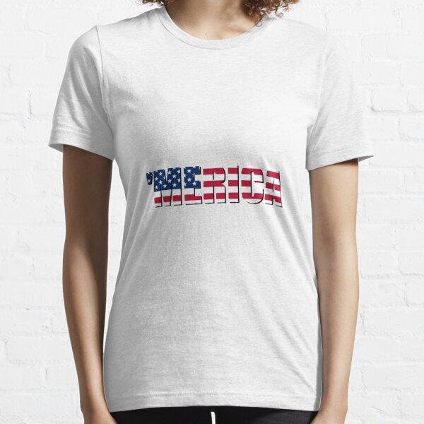 Merica America USA Essential T-Shirt
