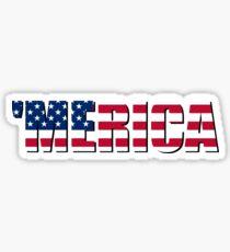 Pegatina Merica America USA