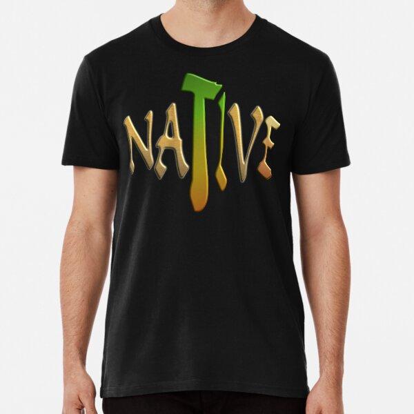 NATIVE AMERICAN - HAPPY NATIVE AMERICANS DAY Premium T-Shirt