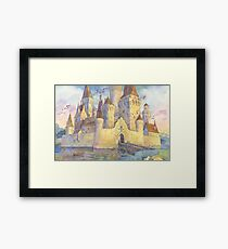 Castle of your dreams Framed Print
