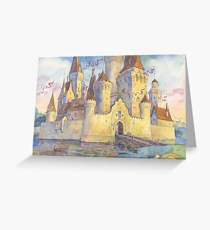 Castle of your dreams Greeting Card